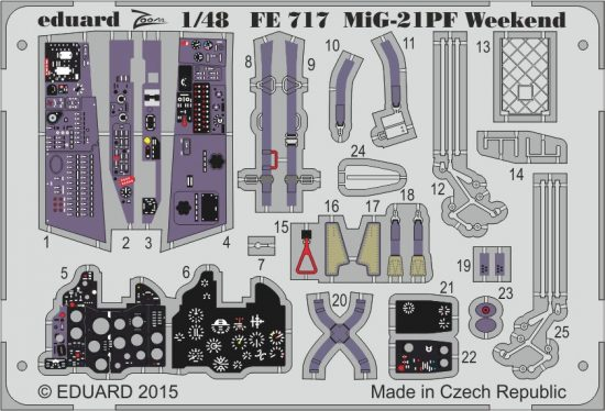 Eduard MiG-21PF Weekend (Eduard)