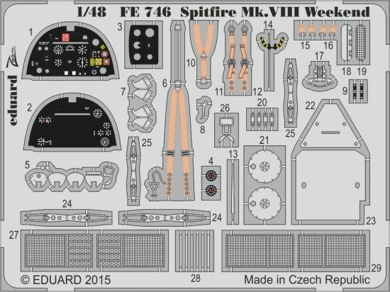 Eduard Spitfire Mk.VIII Weekend (Eduard)