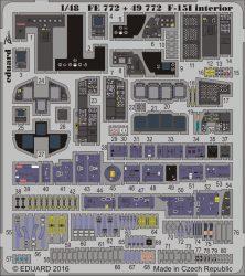 Eduard F-15I interior (Great Wall Hobby)