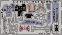 Eduard Yak-38 interior (Hobby Boss)