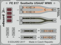 Eduard Seatbelts USAAF WWII STEEL