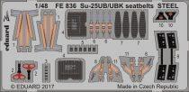 Eduard Su-25UB/ UBK seatbelts STEEL (SMER)