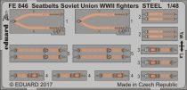 Eduard Seatbelts Soviet Union WW2 fighters STEEL