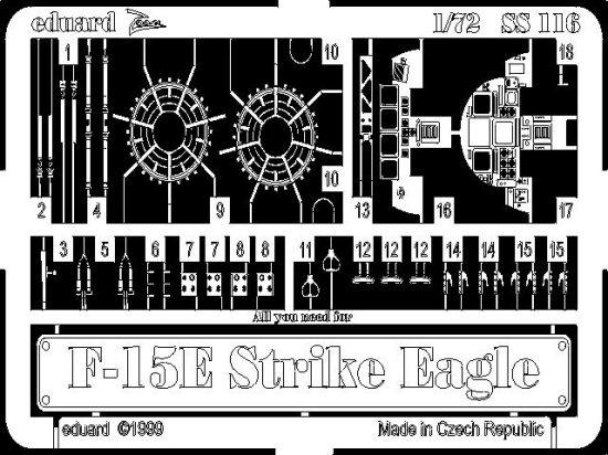 Eduard F-15E (Academy)