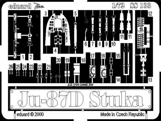Eduard Ju 87D Stuka (Italeri)