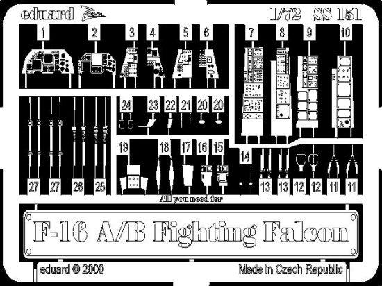 Eduard F-16A/B (Italeri)