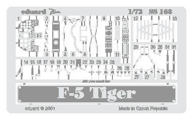 Eduard F-5E Tiger (Italeri)