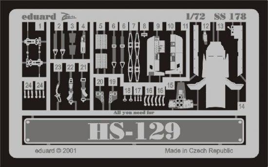 Eduard Hs 129 (Italeri)