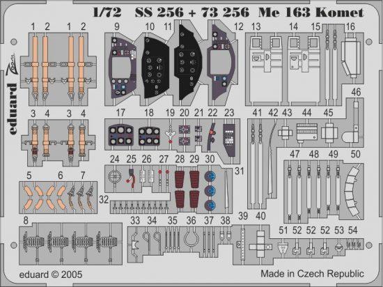 Eduard Me 163 Komet (Academy)