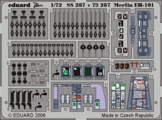 Eduard EH-101 (Italeri)
