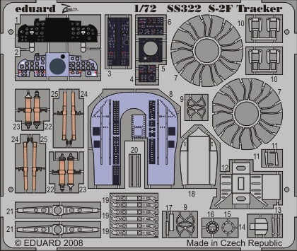 Eduard S-2F (Hasegawa)