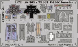 Eduard F-100C interior S.A. (Trumpeter)