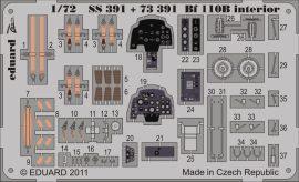 Eduard Bf 110B interior S.A. (Airfix)