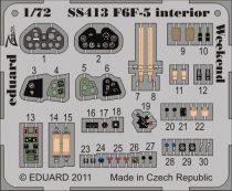 Eduard F6F-5 interior S.A. Weekend (Eduard)