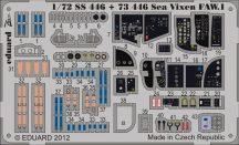 Eduard Sea Vixen FAW.1 interior S.A. (Cyber Hobby)