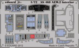 Eduard Sea King AEW.2 interior S.A. (Cyber Hobby)