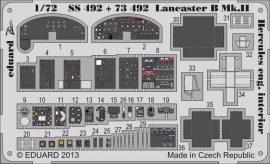 Eduard Lancaster B Mk.II interior S.A. (Airfix)