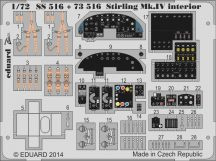 Eduard Stirling Mk.IV interior S.A. (Italeri)