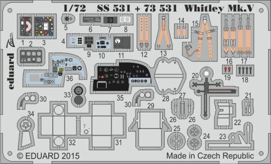 Eduard Whitley Mk.V S.A. (Airfix)