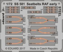 Eduard Seatbelts RAF early STEEL