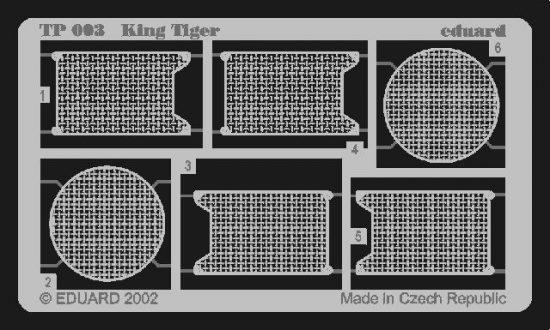 Eduard King Tiger (Tamiya)