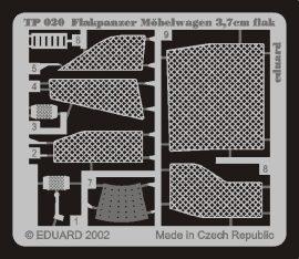 Eduard Flakpanzer IV Möbelwagen 37mm (Tamiya)