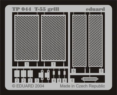 Eduard T-55 grill (Tamiya)