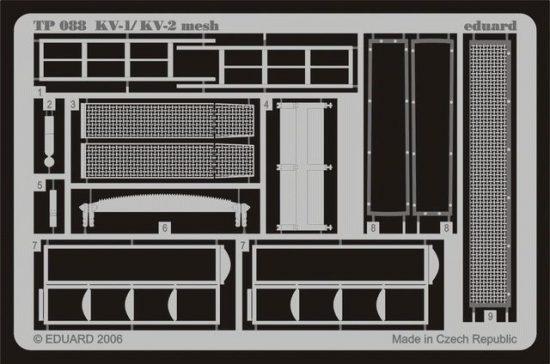 Eduard KV-1/KV-2 mesh early (Trumpeter)