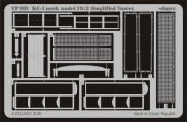Eduard KV-1 mesh model 1942 Simplified turret (Trumpeter)