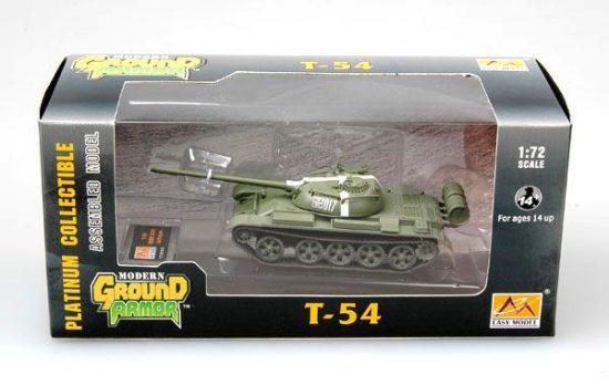 Easy Model T-54 USSR 1968 in Prague