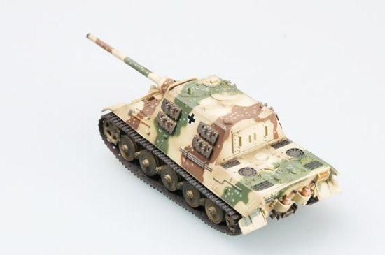 Easy Model Jagdtiger (Henschel model)/three-color camouflage ( s.Pz.Jag.Abt.653)