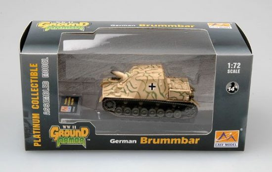 Easy Model Brummbar (Mid Production) StuGAbt 216 Italy 1944