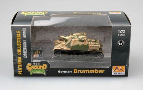 Easy Model Brummbar(Mid Production) StuGAbt 216 1943