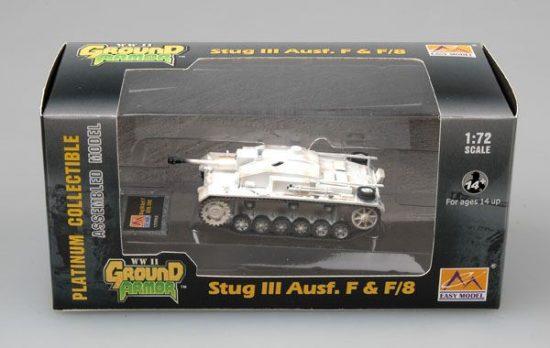 Easy Model Stug III Ausf.F Russia,1942