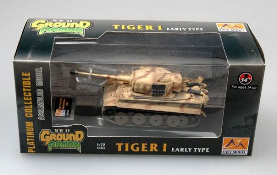 Easy Model Tiger 1 (Early)-Das Reich-Russia,1943