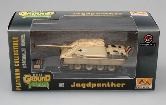 Easy Model Jagdpanther-s.Pz.JgAbt.654 France Autumn 1944