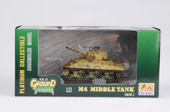 Easy Model M4 Tank (Mid.)-4th Armored Div.