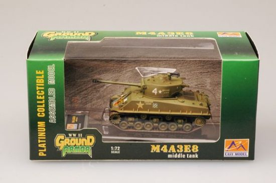 Easy Model M4A3E8Middle Tank-64th Tank Bat.