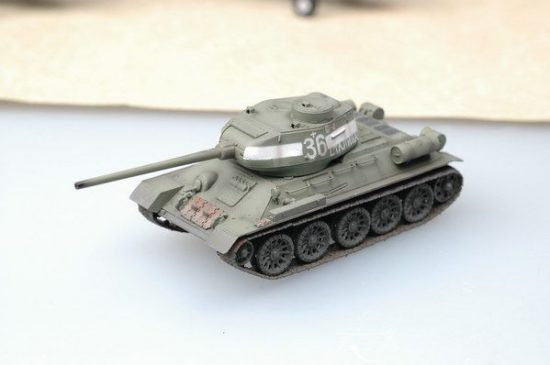 Easy Model T-34/85 Model Russian Army