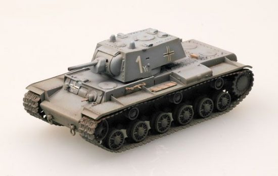 Easy Model Captured KV-1 of the 8th Panzer div.