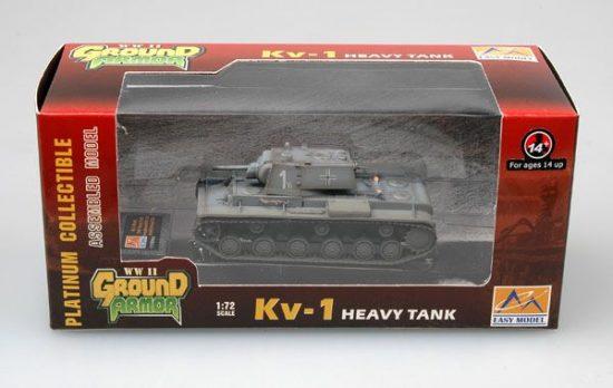 Easy Model Captured KV-1 of the 8th Panzer div.