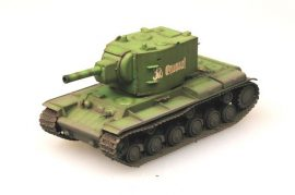 Easy Model KV-2 tank with Russian Green