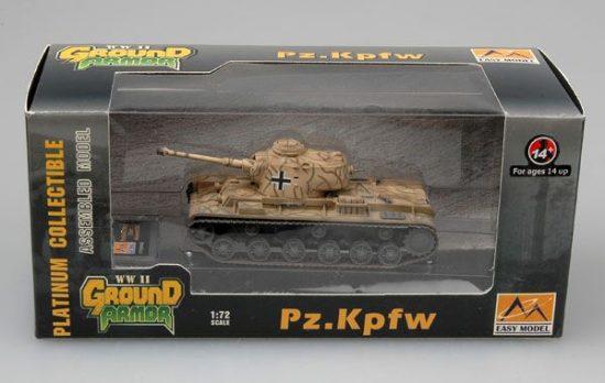 Easy Model KV-1 Pz.Kpfw.756(r) 22nd Armored Div.