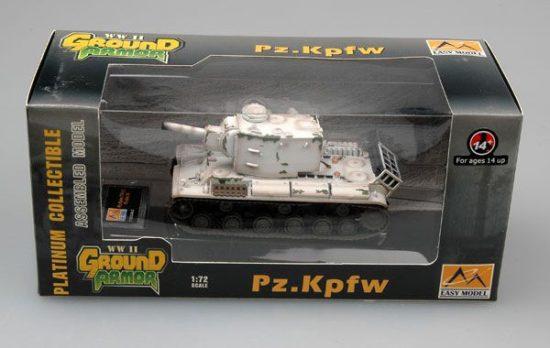 Easy Model KV-2 Pz.Kpfm.754(r) Abt.56(white)