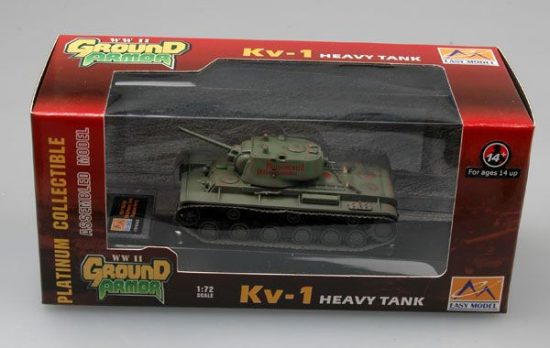 Easy Model Russian KV-1 Eastern Front, 1942
