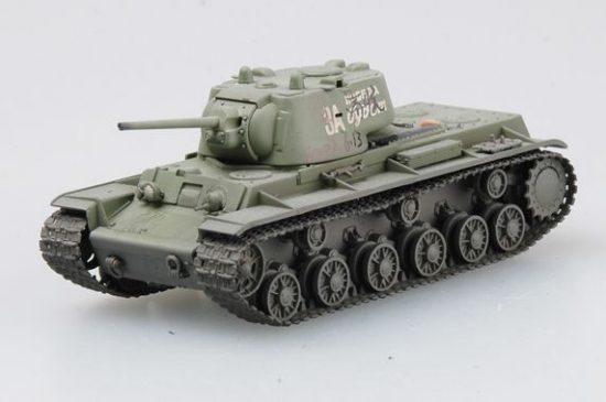 Easy Model Russian KV-1 Charkov area, April 1942
