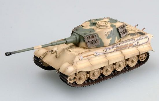 Easy Model Tiger II (Henschel turret) Schwere SS.Pz.Abt.503