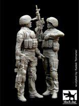 Black Dog US soldiers in Iraq set
