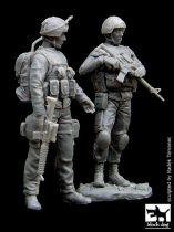 Black Dog Canadian soldier team in Afganistan