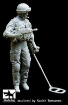 Black Dog British minesweeper in Afghanistan